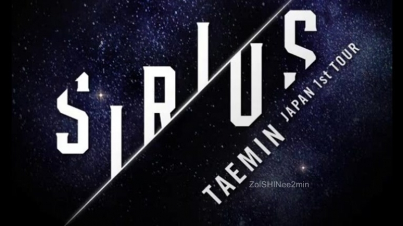 180921 Taemin Japan 1st TOUR SIRIUS D1 New Song 6