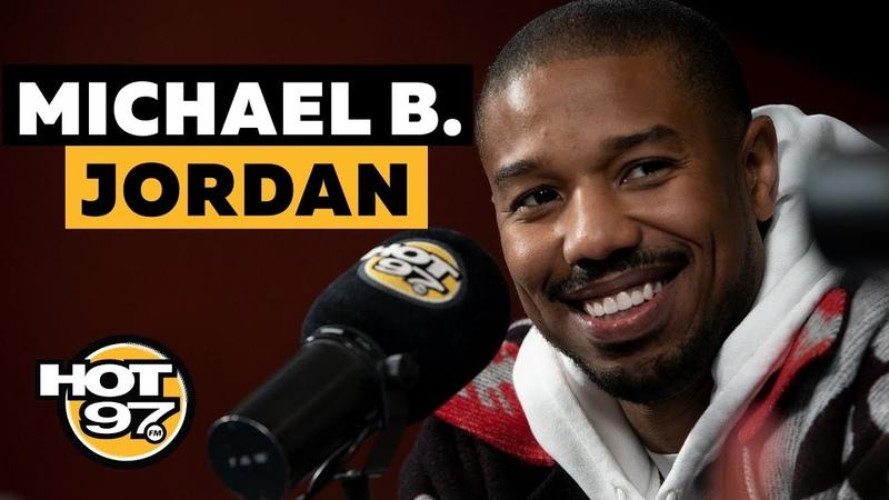 Michael B. Jordan On Being A Sex Symbol, 'Black Panther II' Rumors Remembering Stan Lee