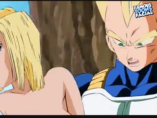 Dragonball z hentai video featuring broly and android 18!