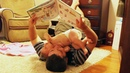 Funny Daddy Teaching Baby - Cute Baby Video