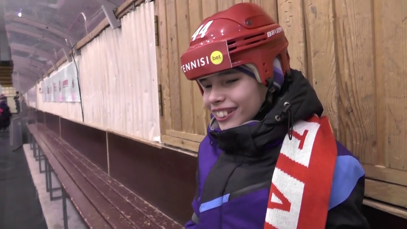 Мечта Антона сбылась слепой мальчик встал на коньки и потренировался с хоккеистами