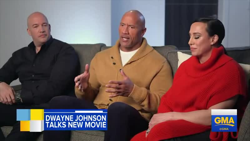 Dwayne The Rock Johnson talks starting a production company with his ex-wife l GMA