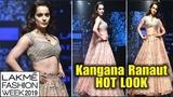 Kangana Ranaut Royal Look At Lakme Fashion Week 2019 Final Day Manikarnika