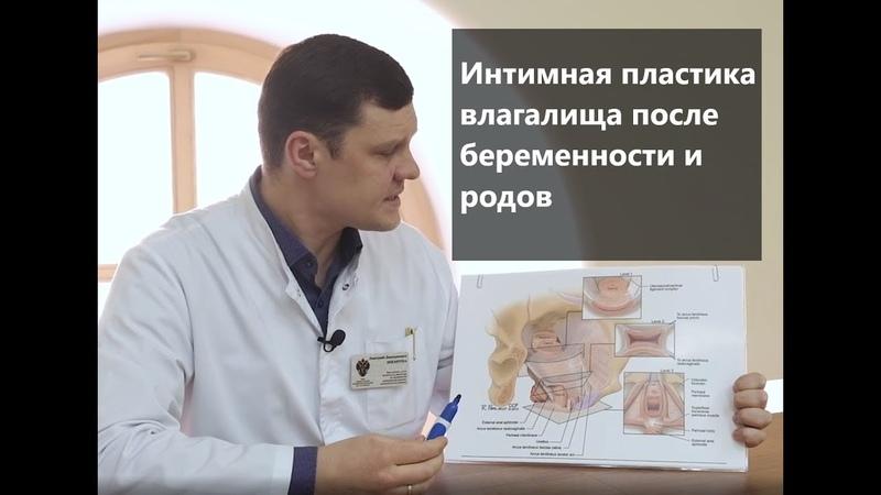 Интимная пластика влагалища после беременности и родов расширенная кольпоперинеопластика