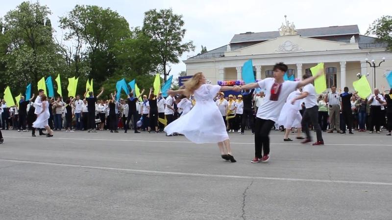 Парад 9 мая 2018 Новая Каховка НКПТ (приборка) ТК Шаг