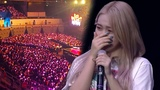 ENG SUB Red Velvet reacts to fans singing Candy (