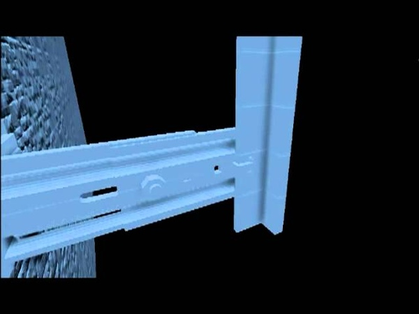 Монтажные работы навесной фасадной системы Вектор (керамогранит).