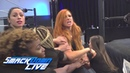 Flair Lynch get into an altercation at the WWE Performance Center: SmackDown LIVE, Oct. 23, 2018