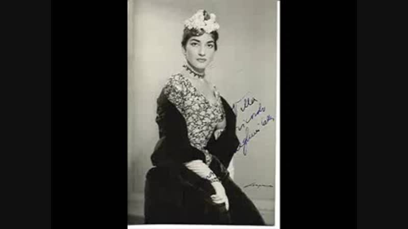 Tito Gobbi Maria Callas Plinio Clabassi in Rigoletto