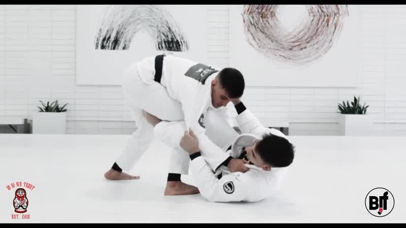 Igwt GUI MENDES DETAILS PULLING GUARD WITH SAME SIDE COLLAR AND ELBOW BJF AOJ