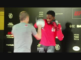 UFC Argentina_ Neil Magny Open Workout (Complete)