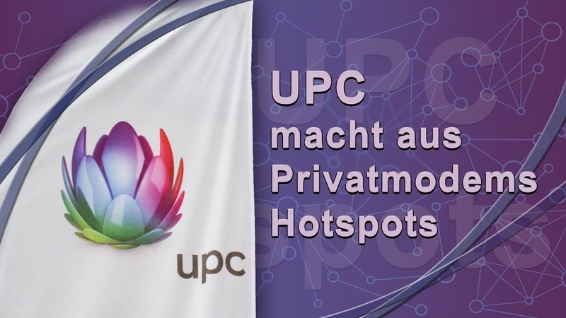 UPC macht aus Privatmodems Hotspots | 18. Juni 2019 | www.kla.tv14454