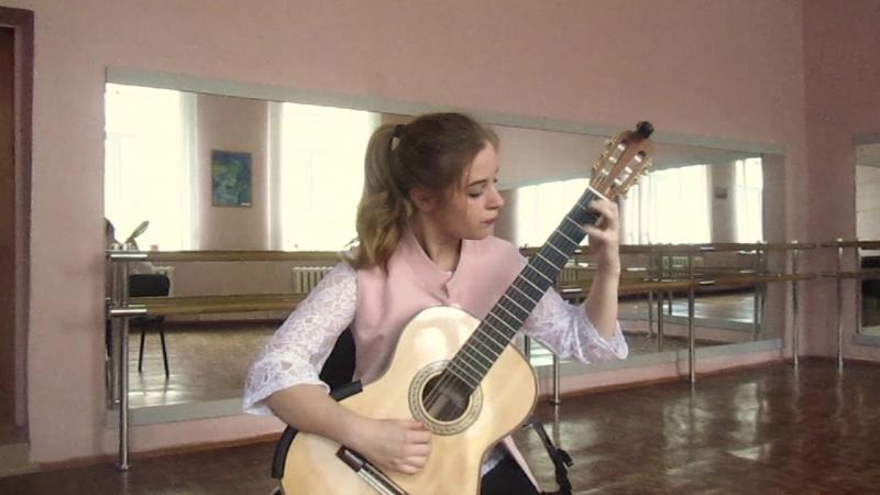 Дарья Селивёрстова - Соната A-dur (Д. Скарлатти)
