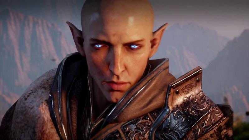 Dragon Age Inquisition DLC Чужак Разрыв отношений с Соласом
