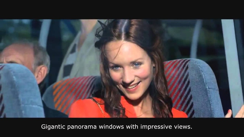 Epic Bus Ad from Denmark English Subtitles HTML5 Midttrafik 'The Bus'