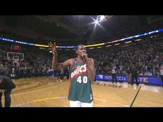Кевин Дюрэнт: НБА вернулась в Сиэтл на сегодняшний вечер, но надеюсь, что скоро она вернется сюда навсегда