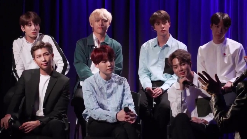 We learned so much from our conversation with @BTS_twt but one thing that stood out was th