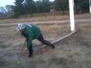 Игра в лапту 2 на улице Школьная село Абди