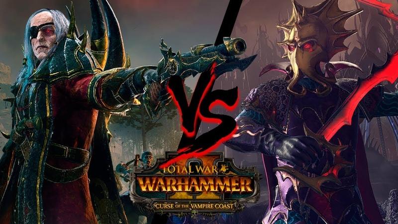 Битва за Черный ковчег⚔️Лютор VS Локхир - Total War: WARHAMMER 2