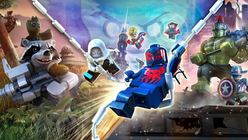 Супергеройский движ в Lego Marvel Super Heoes 2
