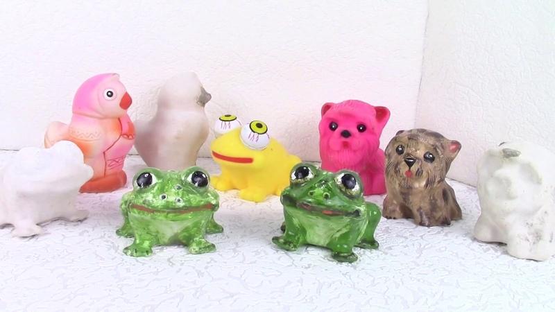 Фигурки из силиконовых игрушек casting for silicone toys. ХоббиМаркет
