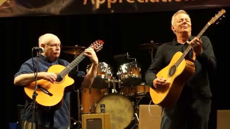 There's a Place for Us Somewhere Tommy Emmanuel and John Knowles CAAS 2014