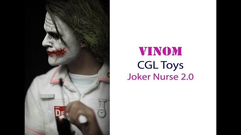 Фигурка CGL Toys - Темный Рыцарь - Joker Nurse 2.0