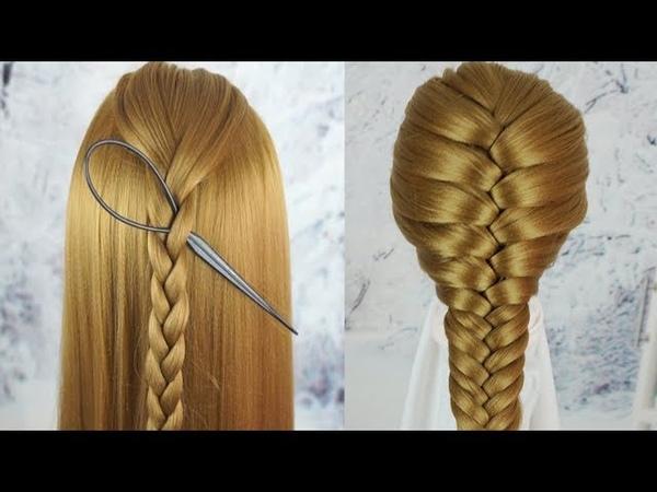 Cách Tết Tóc Đẹp Đơn Giản Nhất 2019 - Tết Tóc Đẹp Đi Học | Beautiful Hairstyles For School