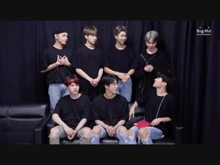181114 BTS Shout-out for ARMY's taking their College Scholastic Ability Test