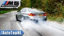 BMW M5 F90 Competition   EXHAUST Sound BURNOUT DRIFTS TOP SPEED by AutoTopNL