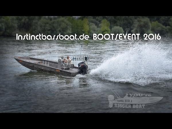 Instinctbassboat.de / sportex boats / euro-som fishing tackle event 2016