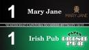 Mary Jane - Irish Pub 1:1 ЧСМФ 4 тур