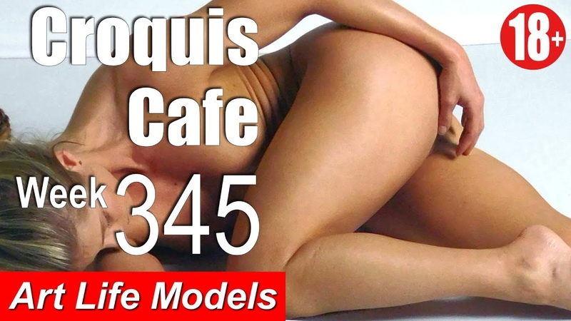 Croquis Cafe Figure Drawing Resource No. 345