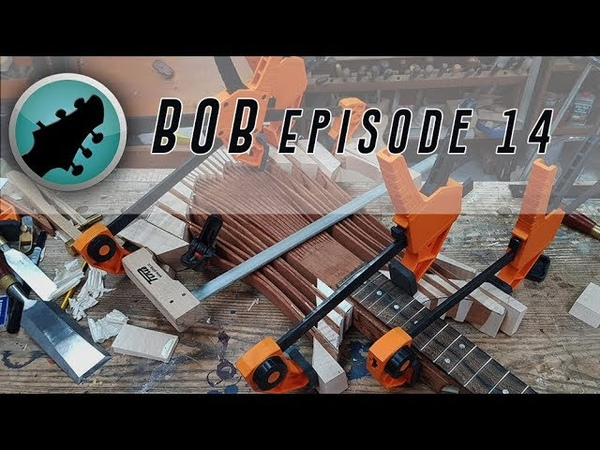 BoB 14 Confound these Clamps Ben Crowe Builds A Totally Unique Custom Guitar
