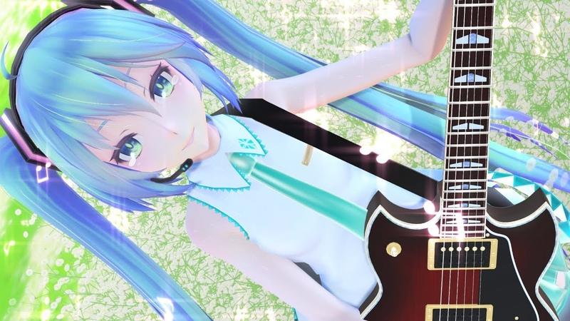 【MMD】Tell Your World【初音ミク】Miku (日本/EN sub) [4K UHD]