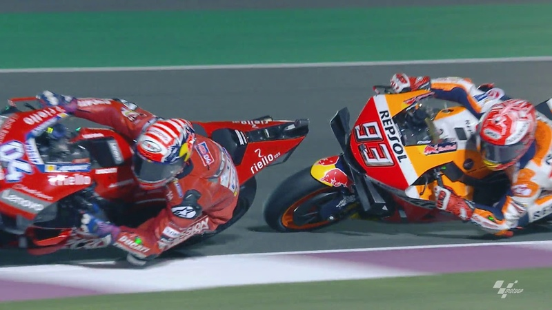 Honda in action: VisitQatar Grand Prix