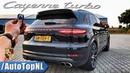 2019 PORSCHE CAYENNE TURBO Review 300km/h POV on AUTOBAHN ROAD by AutoTopNL