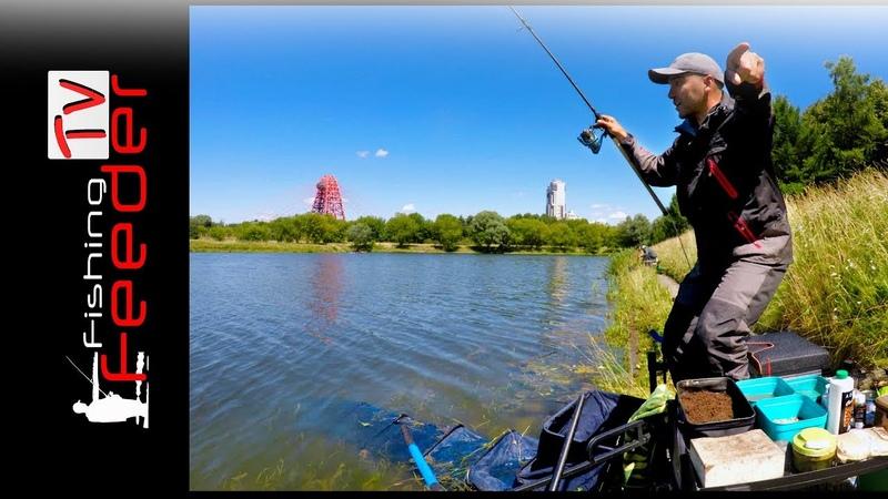 ☑️Vlog 21 Рыбалка с Сергеем Пузановым. Ловля леща. Фидер Гребном Канале. Feederfishing TV