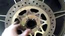 Как сделать дисковые тормоза на мотоцикл Иж Часть 2 Диски на дисках