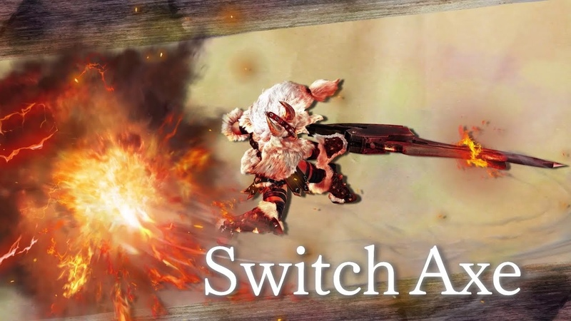 Monster Hunter Generations Ultimate (Switch Axe)