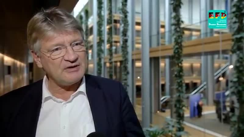 Jörg Meuthens Antwort auf Merkel-Rede verweigert-