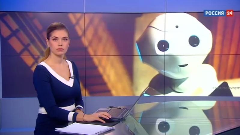 Новости на Россия 24 • В Китае в больницах начали работать роботы-врачи