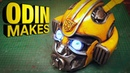 Odin Makes Bumblebee's head from the new Transformers movie Bumblebee