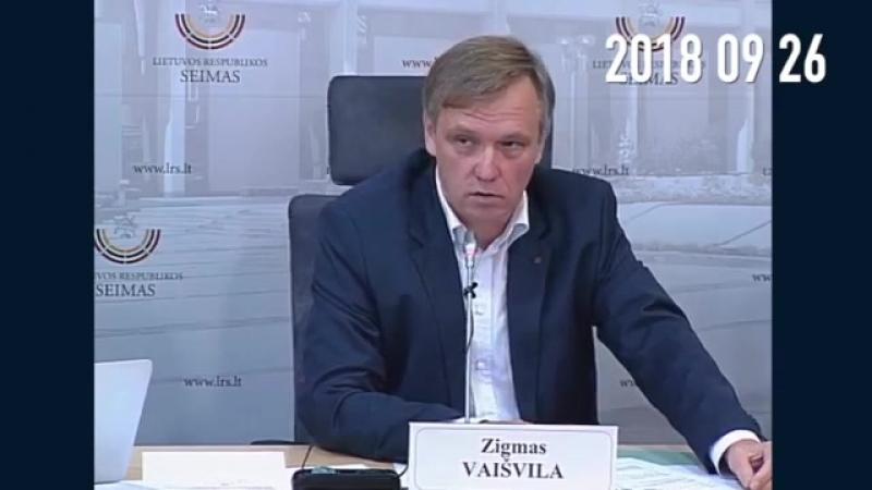 Signataras Z. Vaišvila nurodė aplinkybes ir pateikė faktus apie didžiausią grėsmę LR nacionaliniam saugumui. Šiame video nurodyt » Freewka.com - Смотреть онлайн в хорощем качестве