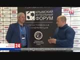 О развитии детско-юношеского футбола в Крыму. Прямое включение Валериана Озеряна