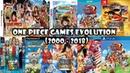 One Piece Games Evolution (2000-2018)