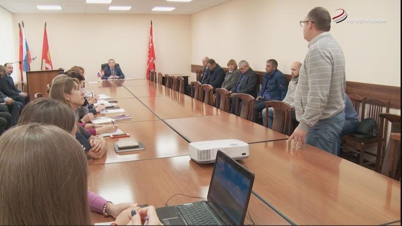 Работы по благоустройству в Серпухове завершаются