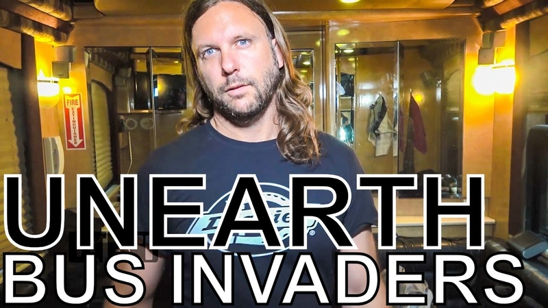 Unearth - BUS INVADERS Ep. 1344 [Warped Edition 2018]