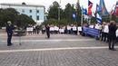 Митинг против сокращения отпусков пилотов и бортпроводников