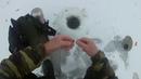 Первый выход на лед РЫБАЛКА НА ЖЕРЛИЦЫ. ЗИМНЯЯ РЫБАЛКА
